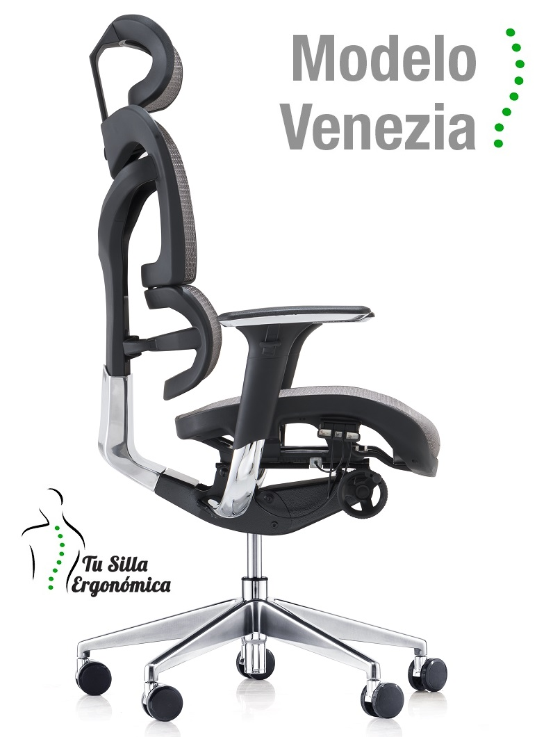 Silla Ergonómica Modelo Venezia - Tu silla ergonómica
